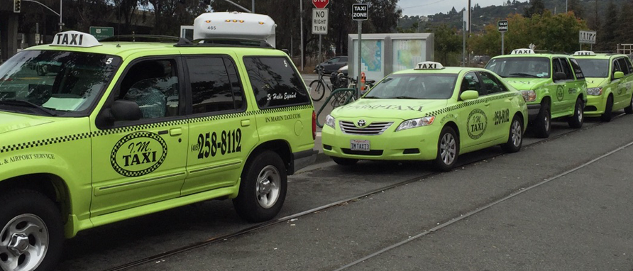 best taxi in marin